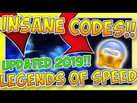 roblox legends of speed codes 2019