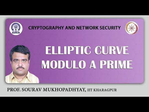 Elliptic curve Modulo a Prime.