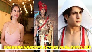 chandra nandini actors real family