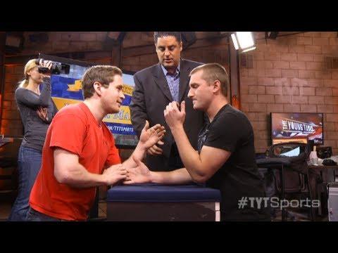 Arm Wrestling!: Mark v. John