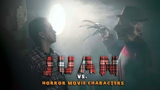 Juan Vs. Horror Movie Characters | David Lopez