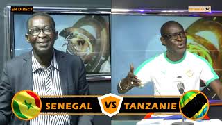 🔴 Mi-temps plateau spécial : Sénégal vs Tanzanie