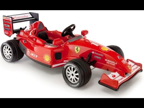 ferrari voitures jouets enfourcher ferrari voitures jouets pour les enfants youtube. Black Bedroom Furniture Sets. Home Design Ideas