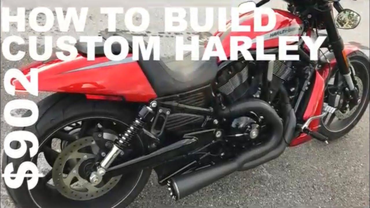 Seitlicher Kennzeichenhalter für Harley Davidson Dyna Super Glide Custom 06-15 C