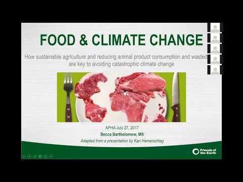 Climate Changes Health: How Climate is Changing Your Dinner Plans