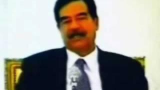 صدام حسين يلقن سعدالكتاتنى درسا فى مبادىء الاسلام