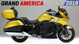 NEW 2018 BMW K1600 Grand America - Updated Features And New Colors Design EICMA 2017