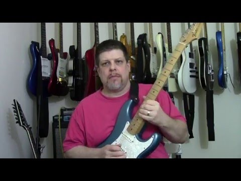 How to install a Seymour Duncan Hot Rail into a Fender Standard ...