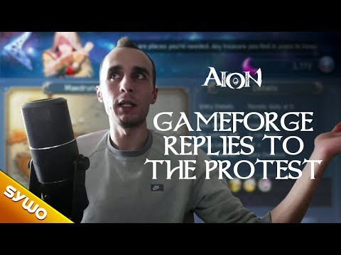 AION 56  Im speechless  Gameforge replies to the community protest