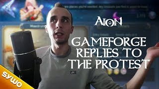 AION 5.6 - I'm speechless... | Gameforge replies to the community protest