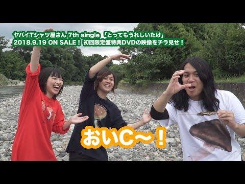 【初回盤DVDトレーラー】ヤバイTシャツ屋さん 7th single「とってもうれしいたけ」
