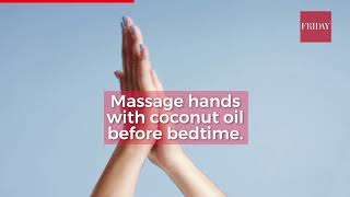 Quick home remedies to pamper dry hands and tired feet