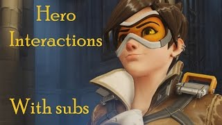 [Overwatch] Hero Interactions with subtitles