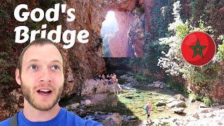 GOD'S BRIDGE - Akchour, Chefchaouen, Morocco أقشور شفشاون