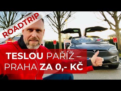 TESLOU X90D Paříž - Praha za 0,- Kč