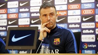 Luis Enrique's press conference (18/01/17)