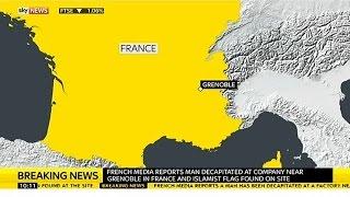 Man Beheaded And Islamist Flag Raised In France