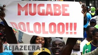 Zimbabwe crisis: Tens of thousands demand 'Mugabe must go'