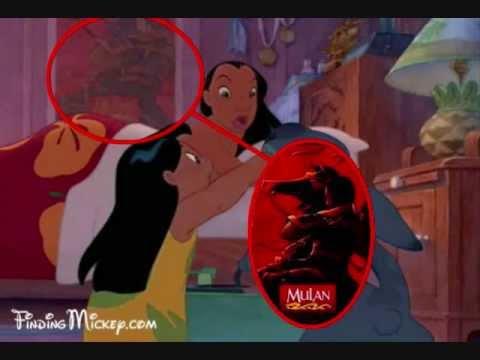 Hidden Characters/Things in Disney Movies