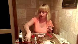 Мыловарение. Урок 6. Красивое мыло с сердечками.