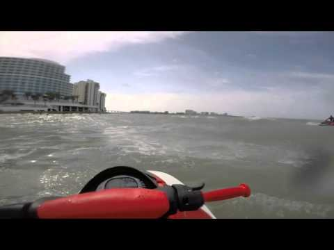 2016 Clearwater Beach Ride Honda Aquatrax r12x