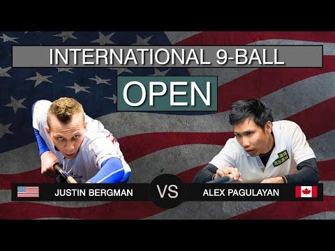 Justin Bergman - Alex Pagulayan | US International 9-ball Open 2019