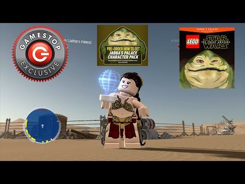 LEGO Star Wars The Force Awakens - Jabba's Palace Character Pack ...