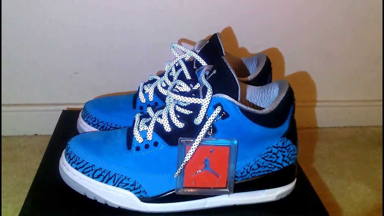 a0091017430003 ... canada air jordan 3 powder blue lace swap 3m reflective youtube 0663e  c5539
