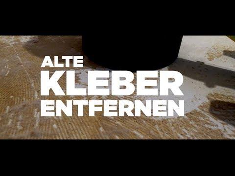 Teppichkleber Entfernen - So Bekommt Man Teppichrücken Und Kleberreste Vom Estrich Ganz Ohne Chemie!