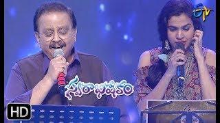 Enno Ratrulosthayi Song | SP Balu,SravanaBhargavi Performance | Swarabhishekam| 20th Oct 2019|ETV