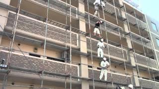 福岡の足場 足場解体 成せば 成るパートⅠ-2002 四島組