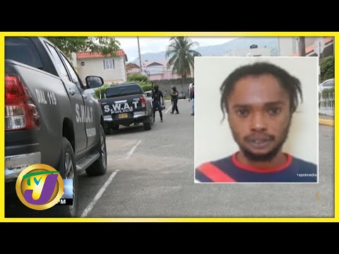 Alleged Member of the One Order Gang Caputered in St. Andrew, Jamaica   TVJ News - July 7 2021