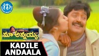 Maa Annayya Movie Songs - Kadile Andaala Nadi Video Song || Dr Rajasekhar, Meena || S A Rajkumar