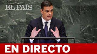 DIRECTO   PEDRO SÁNCHEZ interviene en la asamblea general de la ONU
