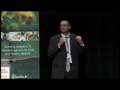 Cagri Ayranci at Alberta Innovates Bio Solutions Impact Innovation 2016 on May 11, 2016
