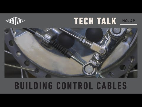 How To Build Your Own Control Cable //Revival Tech Talk