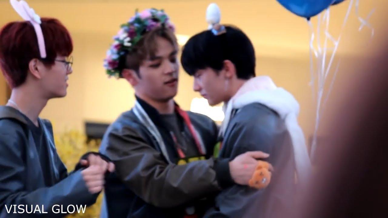180408 Stray Kids Hwang Hyunjin Cried During Fansign Because False Rumor  About Him