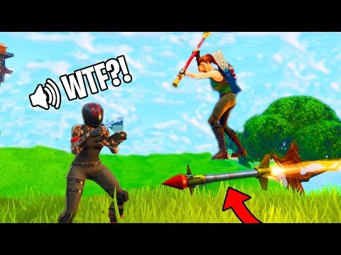 I rocket rode an enemy Guided Missile this is what happened! Fortnite Funny Moments