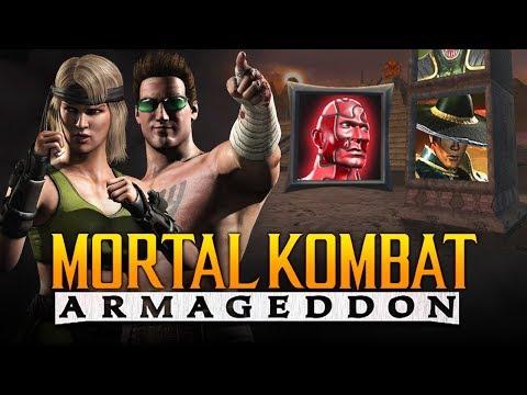 "THE CAGE FAMILY'S SON?! - Armageddon: ""Kreate a Fighter"" Arcade Ladder (Mortal Kombat 11 Kountdown) thumbnail"