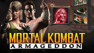 "THE CAGE FAMILY'S SON?! - Armageddon: ""Kreate a Fighter"" Arcade Ladder (Mortal Kombat 11 Kountdown)"
