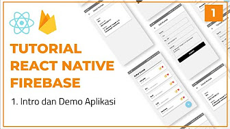 thumbnail Tutorial CRUD React Native dengan Firebase