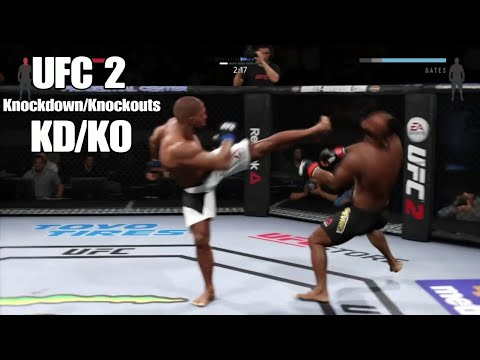 UFC 2: Knockdown/Knockouts (KD/KO) #1