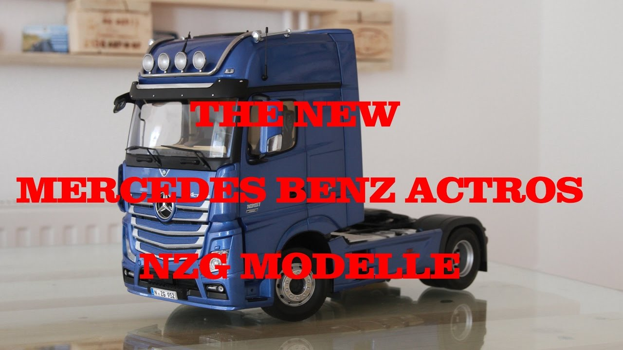 nzg modelle mercedes benz actros gigaspace 1 18 952 25. Black Bedroom Furniture Sets. Home Design Ideas