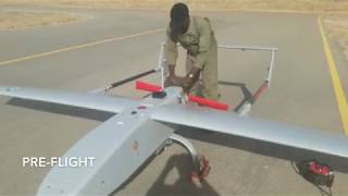 TSAIGUMI UNMANNED AERIAL VEHICLE ON EXERCISE HARD STRIKE