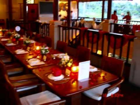 Table Setup - Queens of India Best Indian Restaurant in Bali - YouTube