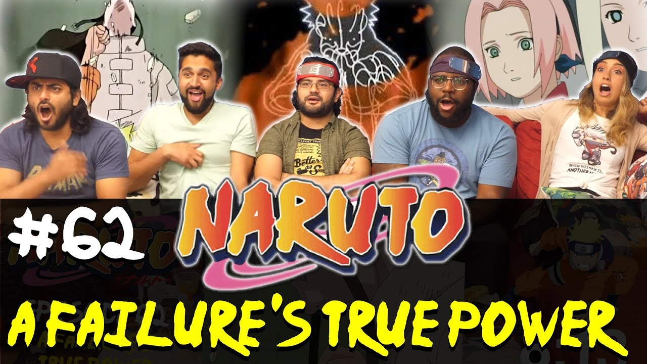 Naruto - Episode 62 A Failure's True Power - Group Reaction