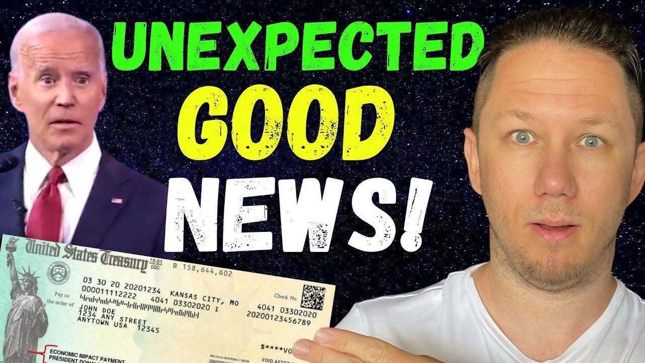 WOW! I CAN'T BELIEVE IT!! Fourth Stimulus Check Update + Daily News & Stimulus Package Update