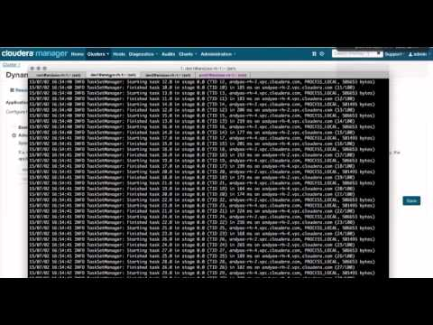 Cloudera Manager Demo 8: Dynamic Resource Management
