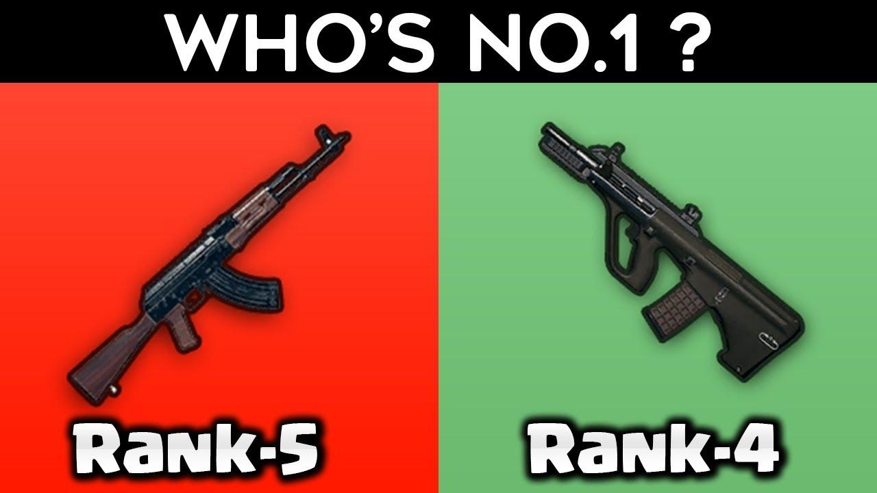 top 10 assault rifles in pubg mobile   PUBG Memes