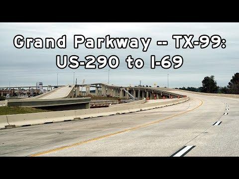 2018/11/11 - Grand Parkway, TX-99, Houston, Texas